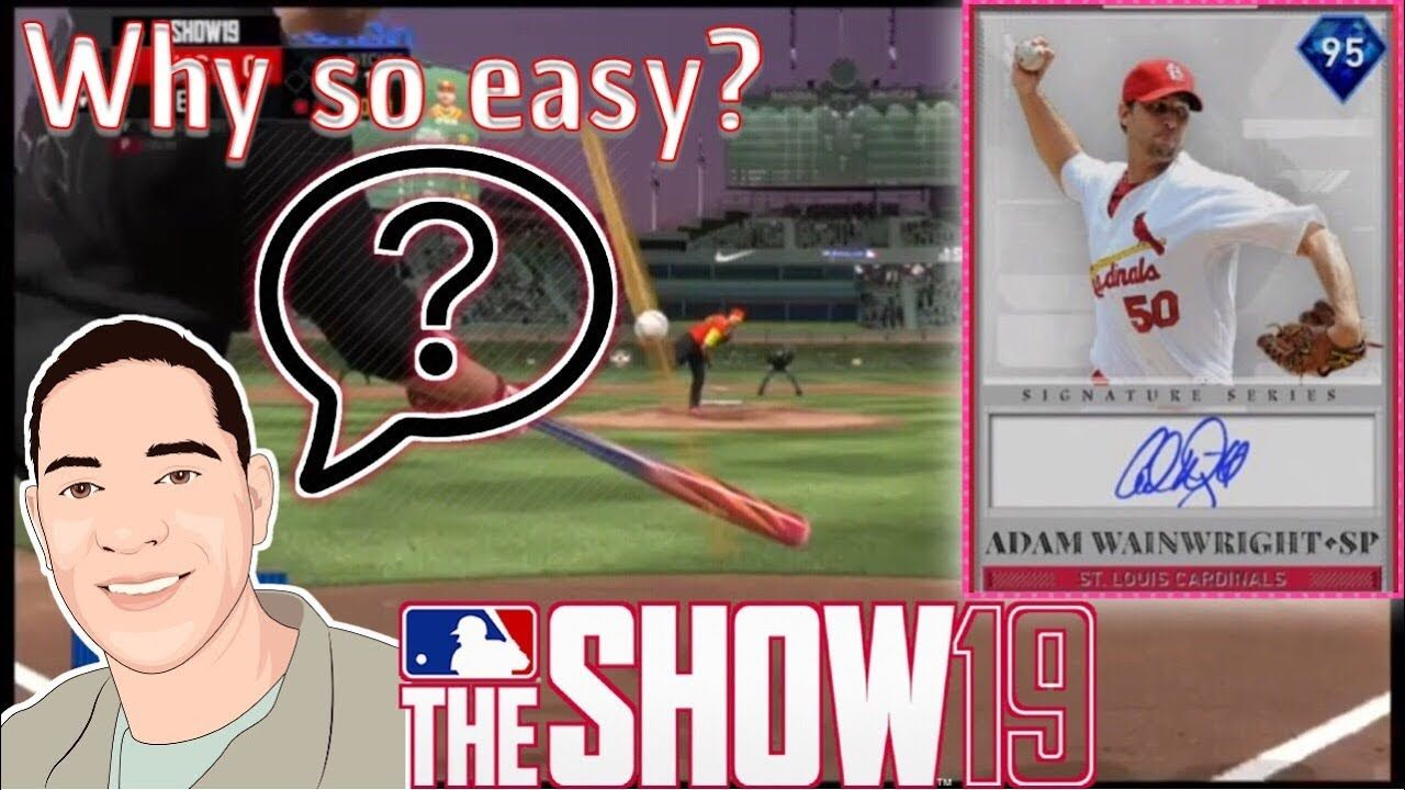 Signature Series Diamond Mlb The Show 19 Easiest Of All Time 95 Ov Mlb The Show All About Time Mlb