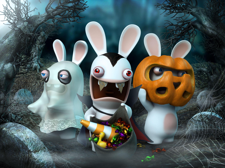 Halloween rabbids rabbids pinterest humor - Lapin cretin vampire ...