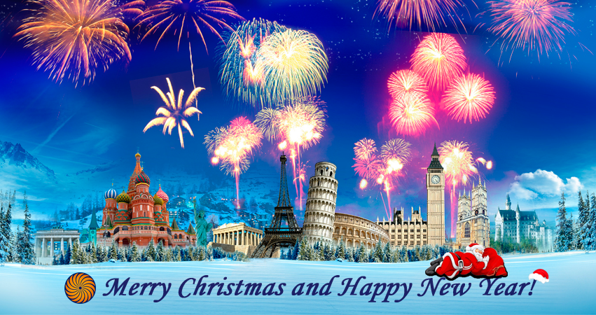 merry christmas and happy new year - Recherche Google | Le temps des ...