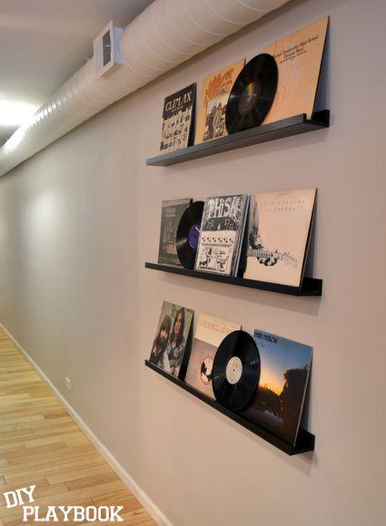 Charmant Vinyl Record Storage Ikea · Record Album Wall @Brad DePriest
