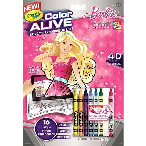Crayola Color Alive Barbie. #Crayola #Mattel #Barbie | Crayola ...