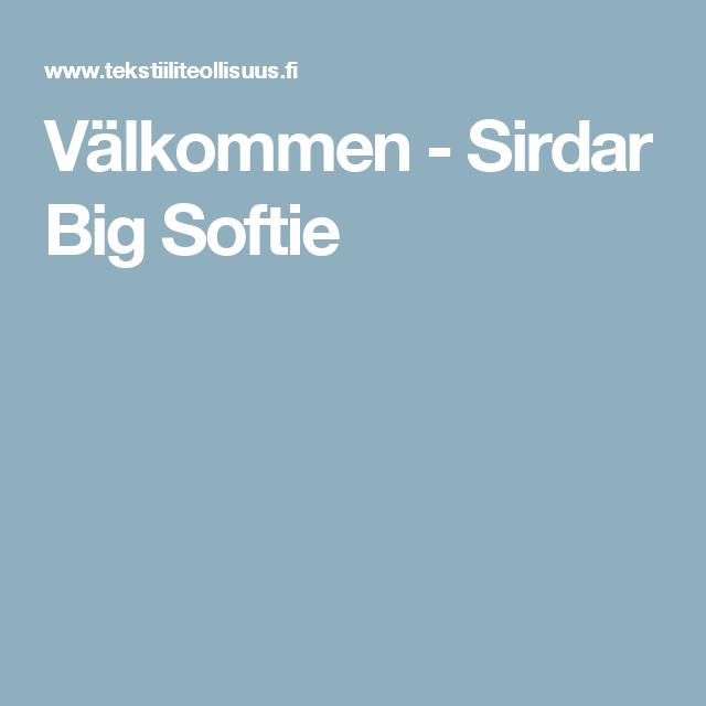 Välkommen - Sirdar Big Softie