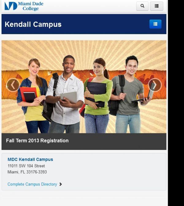 Miami Dade College Kendall Campus 11011 Sw 104th St Miami Fl 33176 Colleges Universities Miami Dade College Seo Company Web Development Design