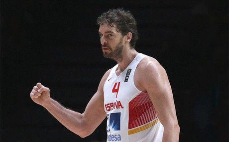 Pau Gasol, MVP del Eurobasket