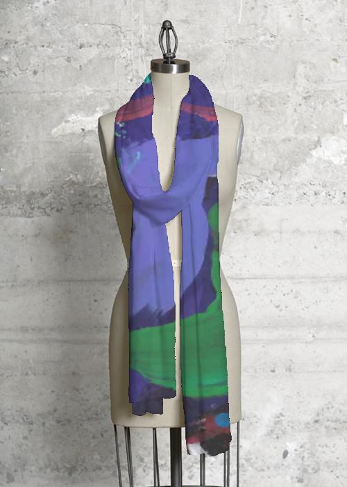 Cashmere Silk Scarf - Anemone 1 by VIDA VIDA WM977U