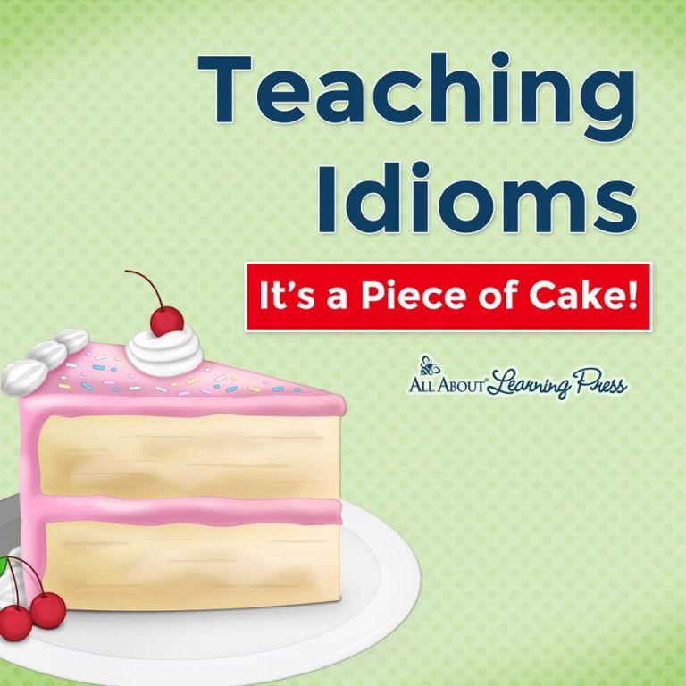 Photo of Teaching Idioms: It's a Piece of Cake! | Free Homeschool Deals ©