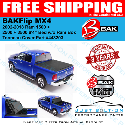 Bakflip Mx4 Folding Bed Cover 2002 20 Ram 1500 2500 3500 6 4 W O Box Bak 448203 In 2020 Tonneau Cover Ram 1500 Hard Folding Tonneau Cover