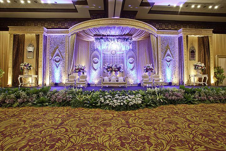 Tren Dekorasi Pelaminan Modern Foto 32 Wedding Hall