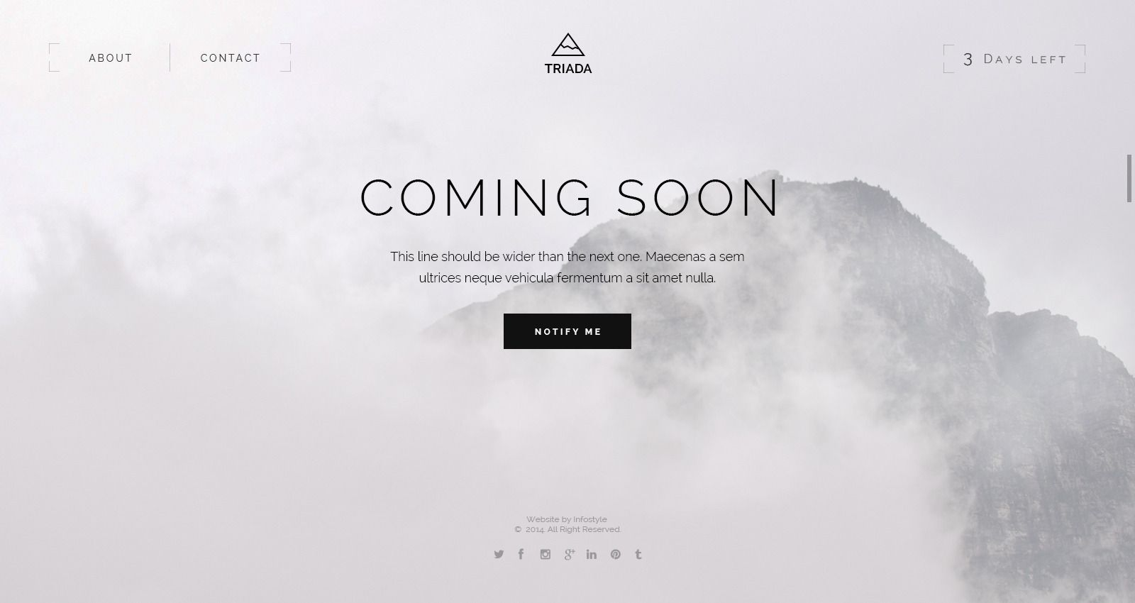 You need a coming soon page html template pinterest you need a coming soon page html template pinterest templates and coming soon pronofoot35fo Gallery