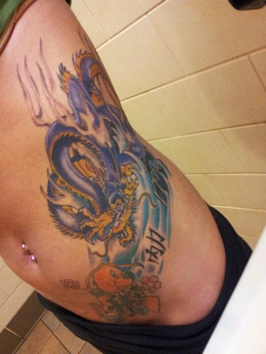 4793f6cea Koi fish,dragon tattoo chineese symbol for inner strength ( reminder to  always be strong)