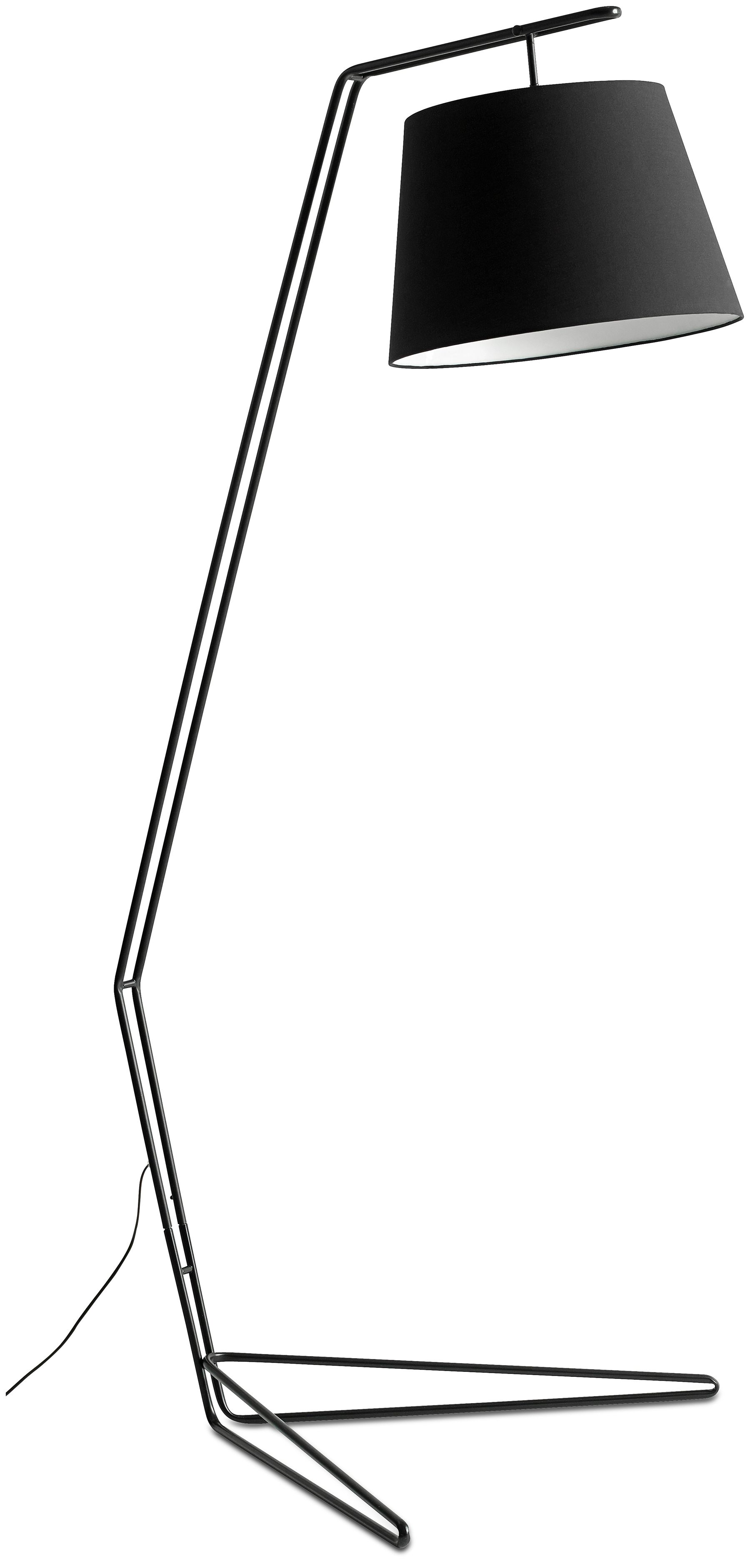 Elevate Floor Lamp As Shown Black Metal H78 Xw18 Xd36 Elevate Lamper Kobber