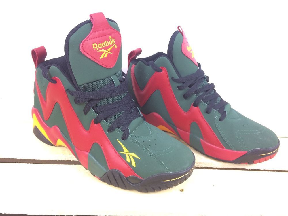 5599fb59 Reebok Kamikaze II Sonics 95 v61153 (059503 613) US 10.5 new with out box # Reebok #BasketballShoes