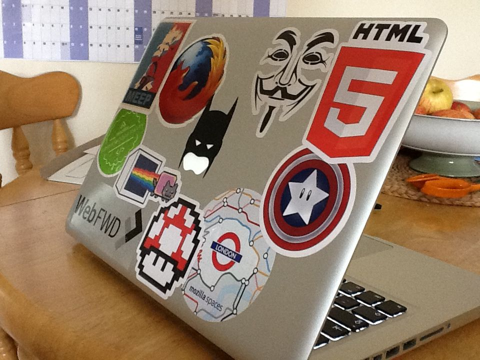 My laptop stickers came! | Flickr - Photo Sharing!