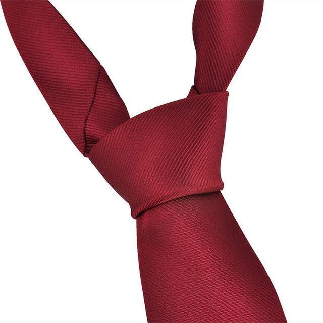 Fashion Classic Solid Plain Tie Jacquard Woven Men/'s Silk Suits Ties Necktie