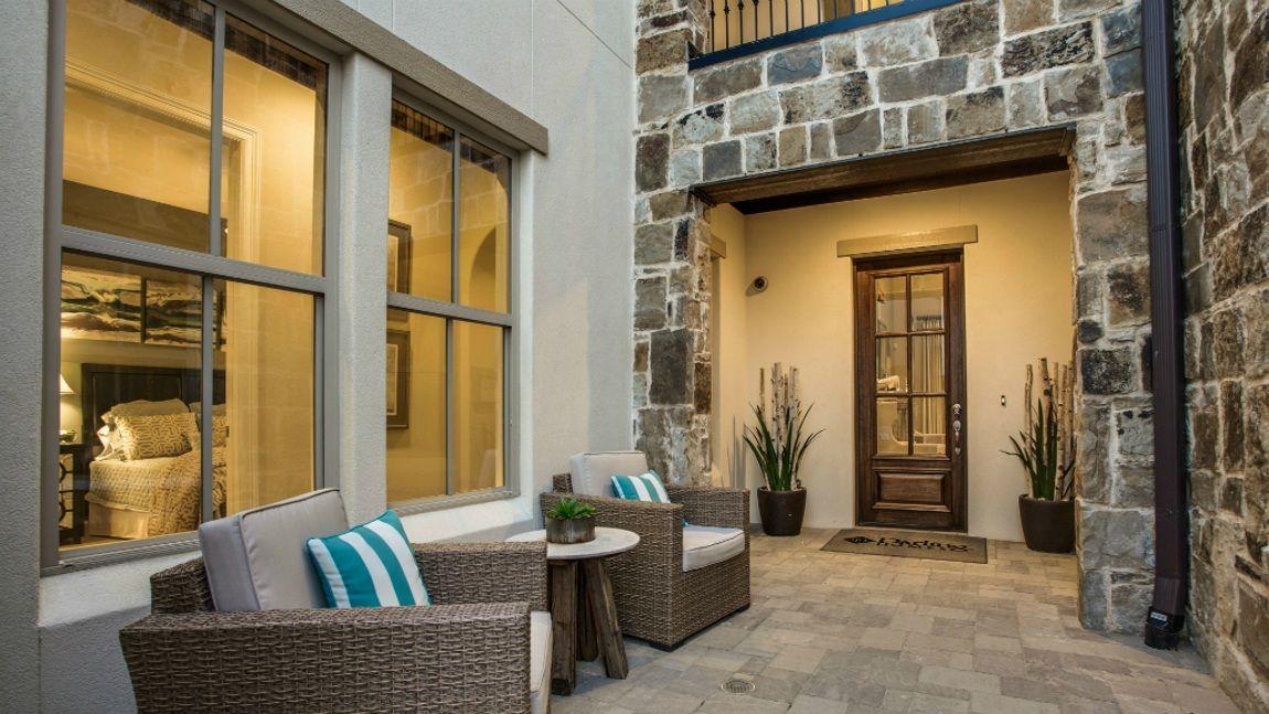 A Perfect Patio Design By Darling Homes: Dallas, Texas