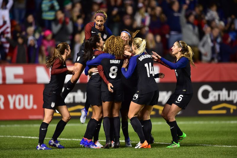 Gallery: WNT Puts On Second Half Show in 4-0 Win vs. Switzerland - U.S. Soccer