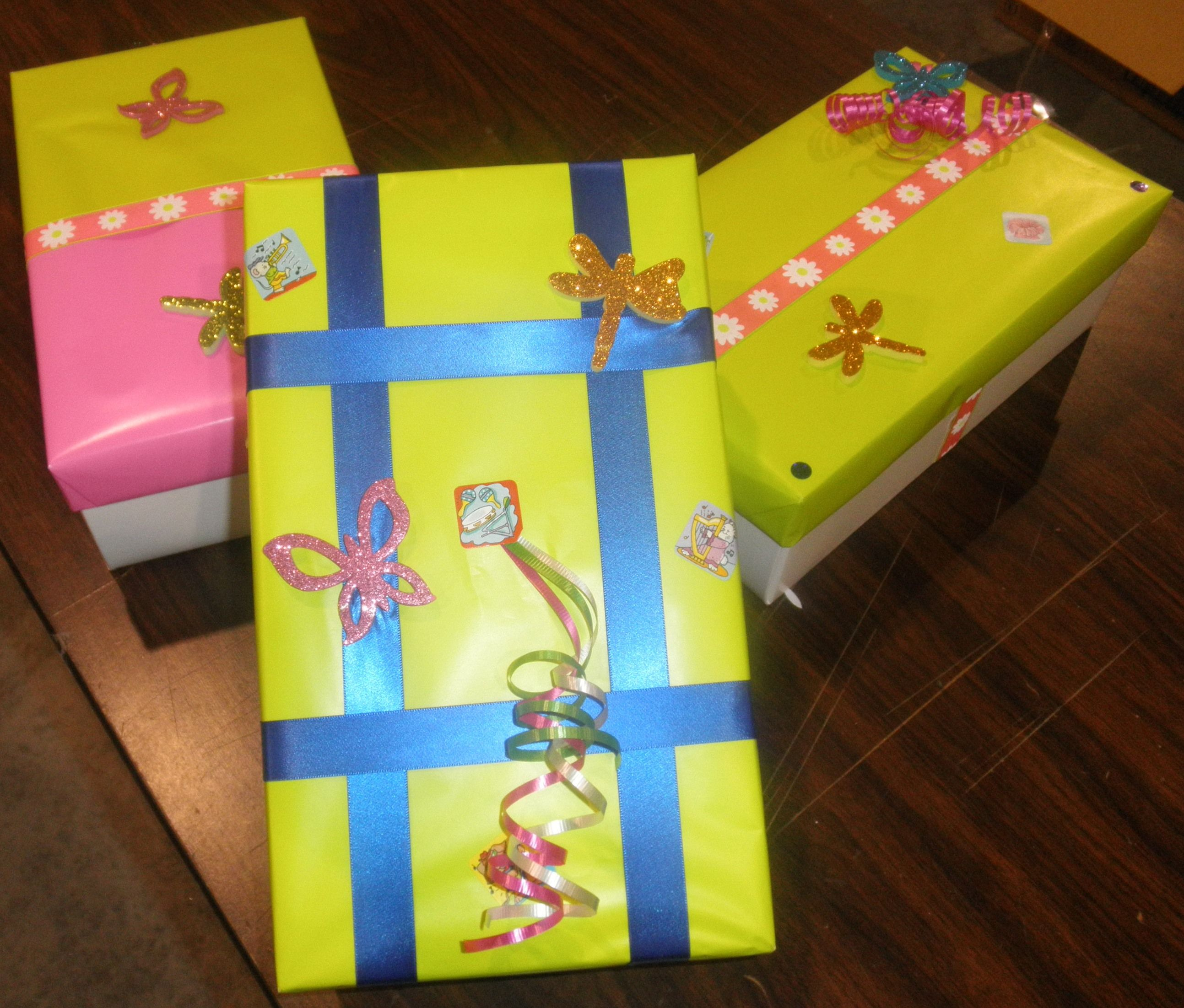 The United Way Shoebox Project gives you the opportunity