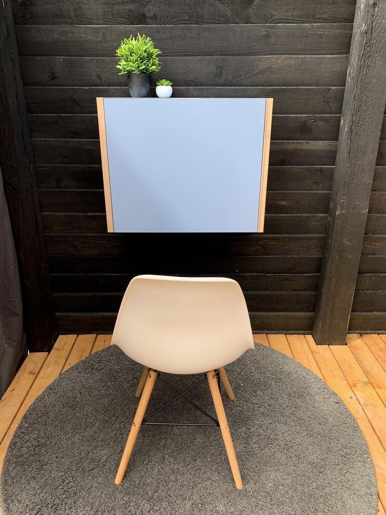 Home Office Imac 21 5 Schreibtisch Klapptisch Platz Sparen