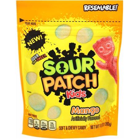 Sour Patch Kids Mango Soft Chewy Candies 10 Oz Walmart Com Sour Patch Kids Sour Patch Chewy Candy