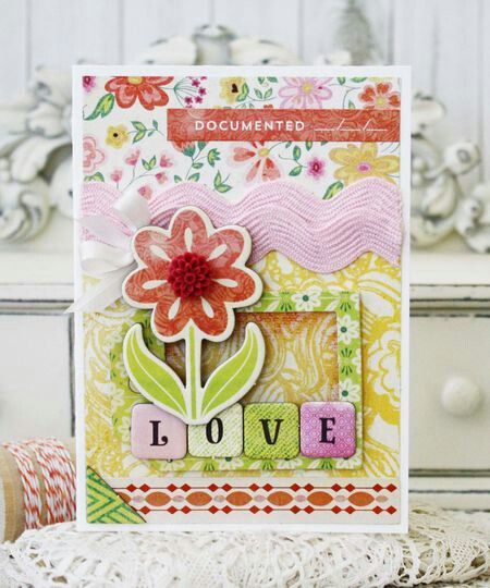 Beautiful everyday card from Melissa Phillips