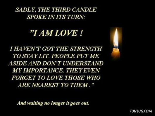 Inspirationalstories.org | The Four Candles Burn SLowly (Inspirational Story)