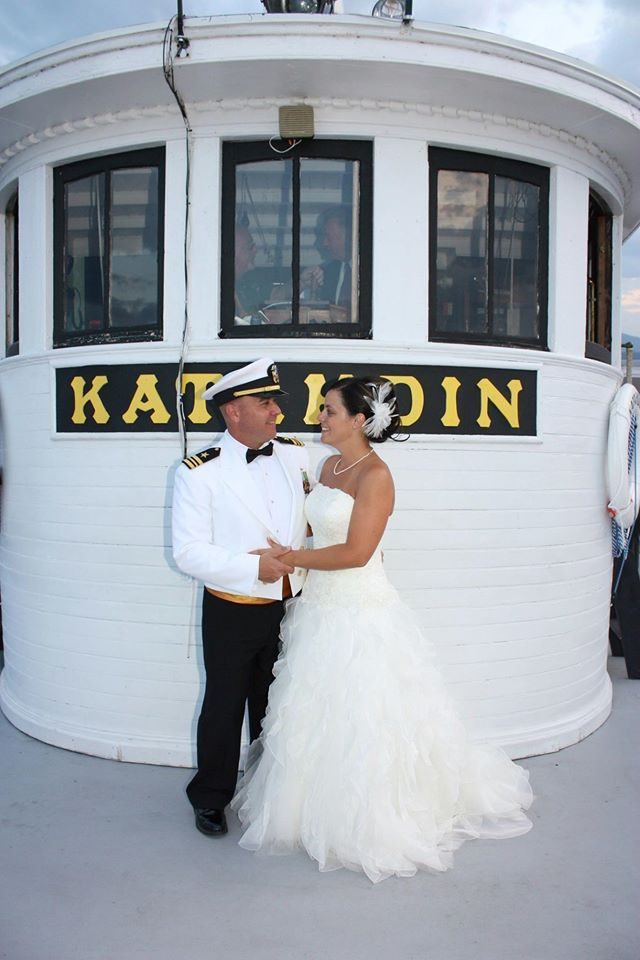 So Much Fun Having Melissa Jon Letourneaus Wedding On The Kate Perfect For A Destination In Greenville Maine