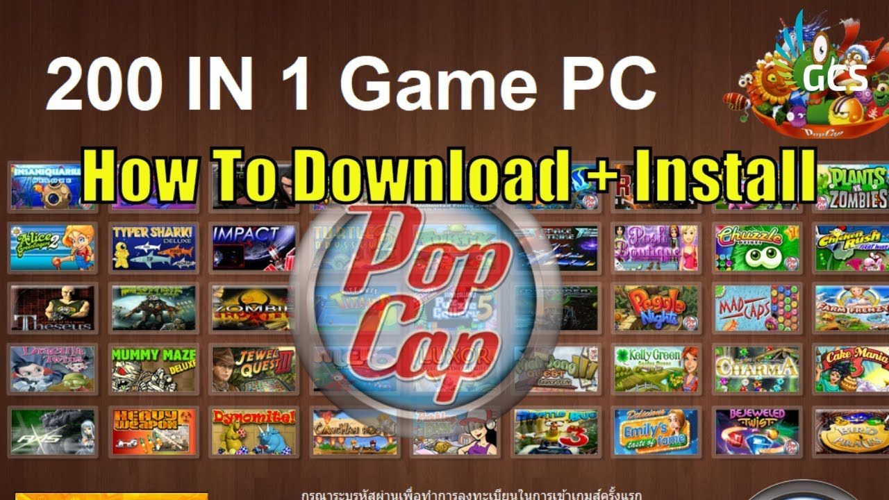 (PC) 200 In 1 Popcap Game Colletion How To Download