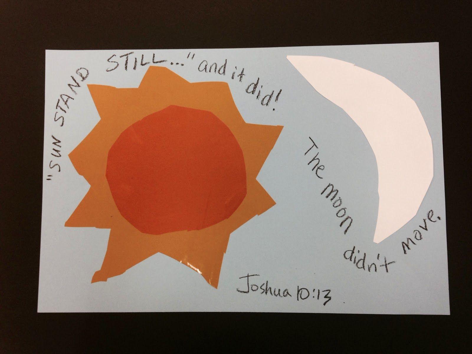 Verses Joshua 10 1 43 Memory Verse Joshua 10 13 And The