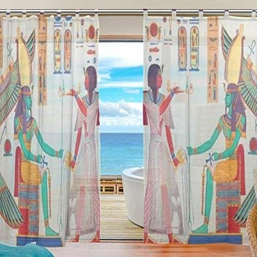 Jstel Décor de chambre à coucher Salon Décorations de l\'Égypte ...