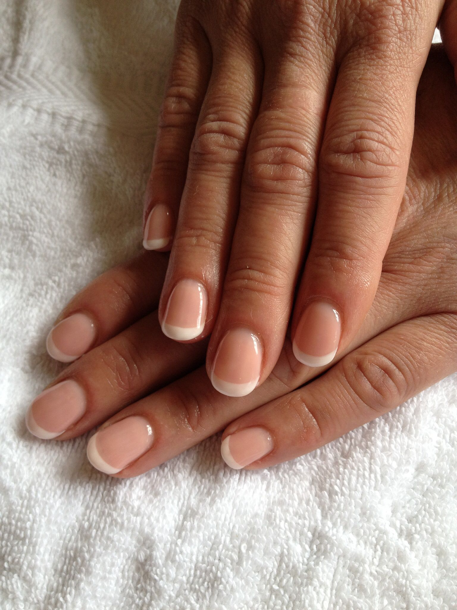 French weiß, Camouflage-Gel rosa | Nagelstudio Nailicious ...