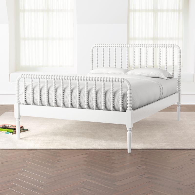 Jenny Lind White Full Bed White queen bed, Black queen