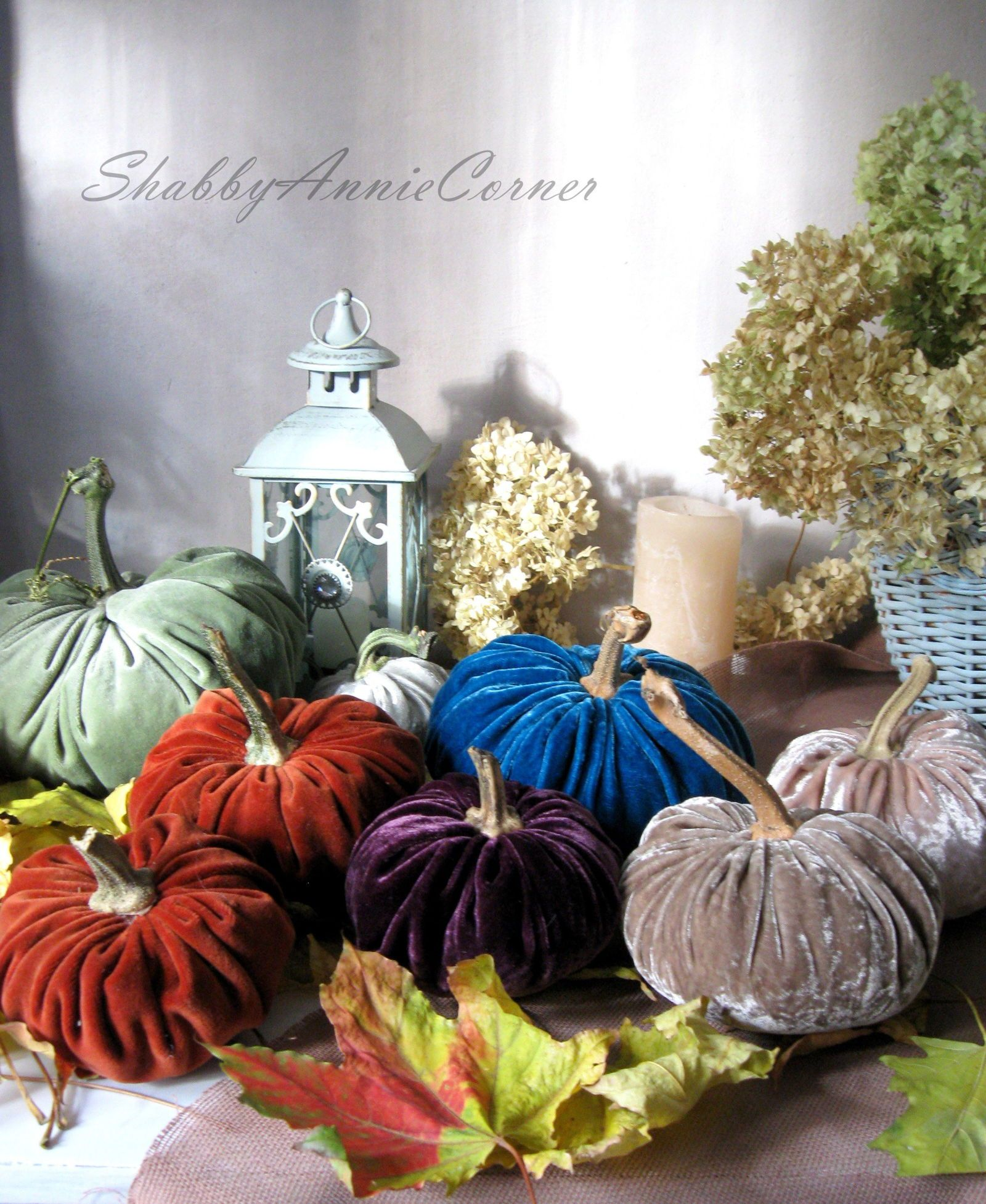 Velvet pumpkins the ontrend home decoration you need for