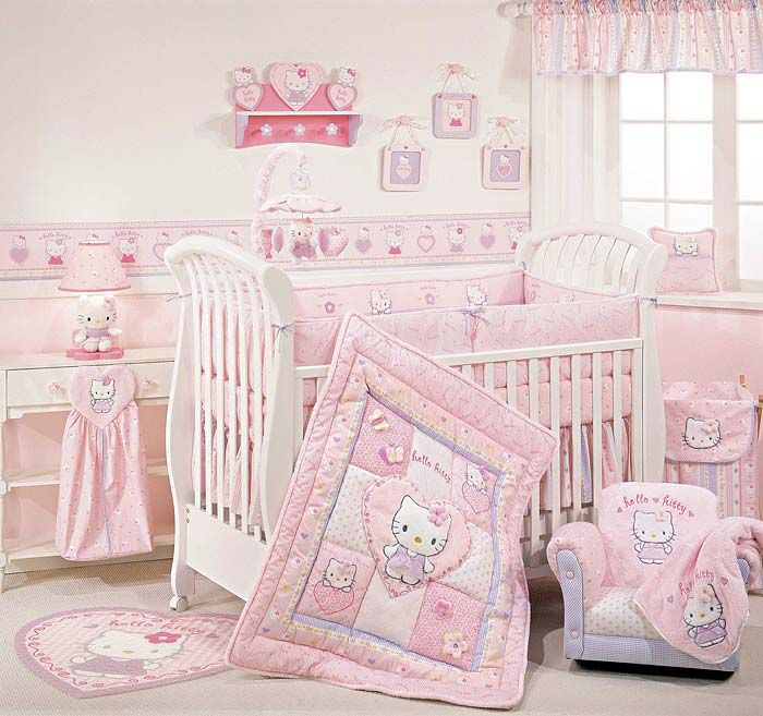 baby bedroom hello kitty decoration ideas someday pinterest