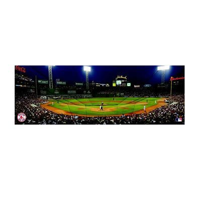 Boston Red Sox MLB Artissimo Fenway Park Panoramic 36X12 Canvas Art