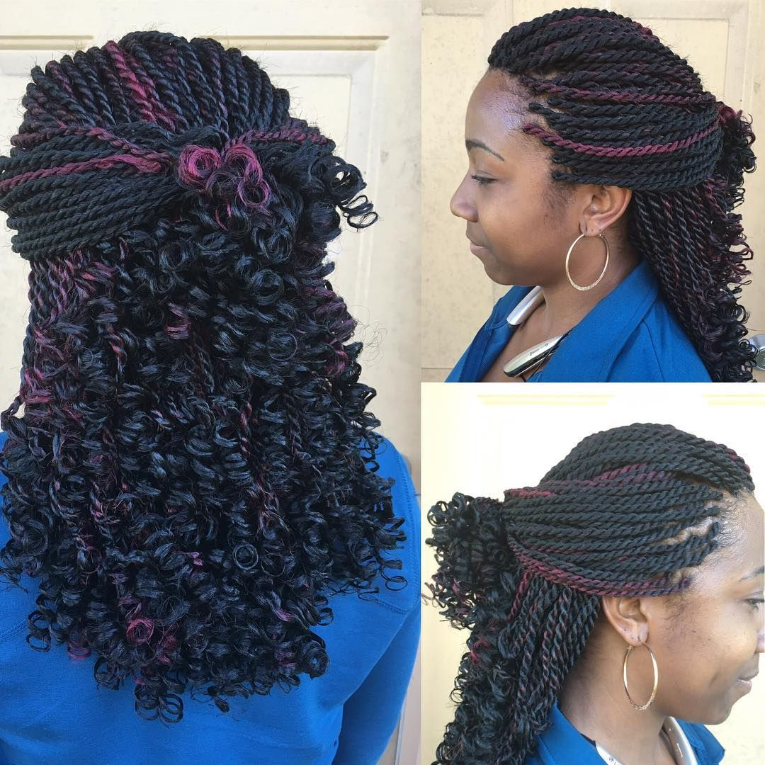 Cute And Curly In 2019 Natural Hair Styles Braided