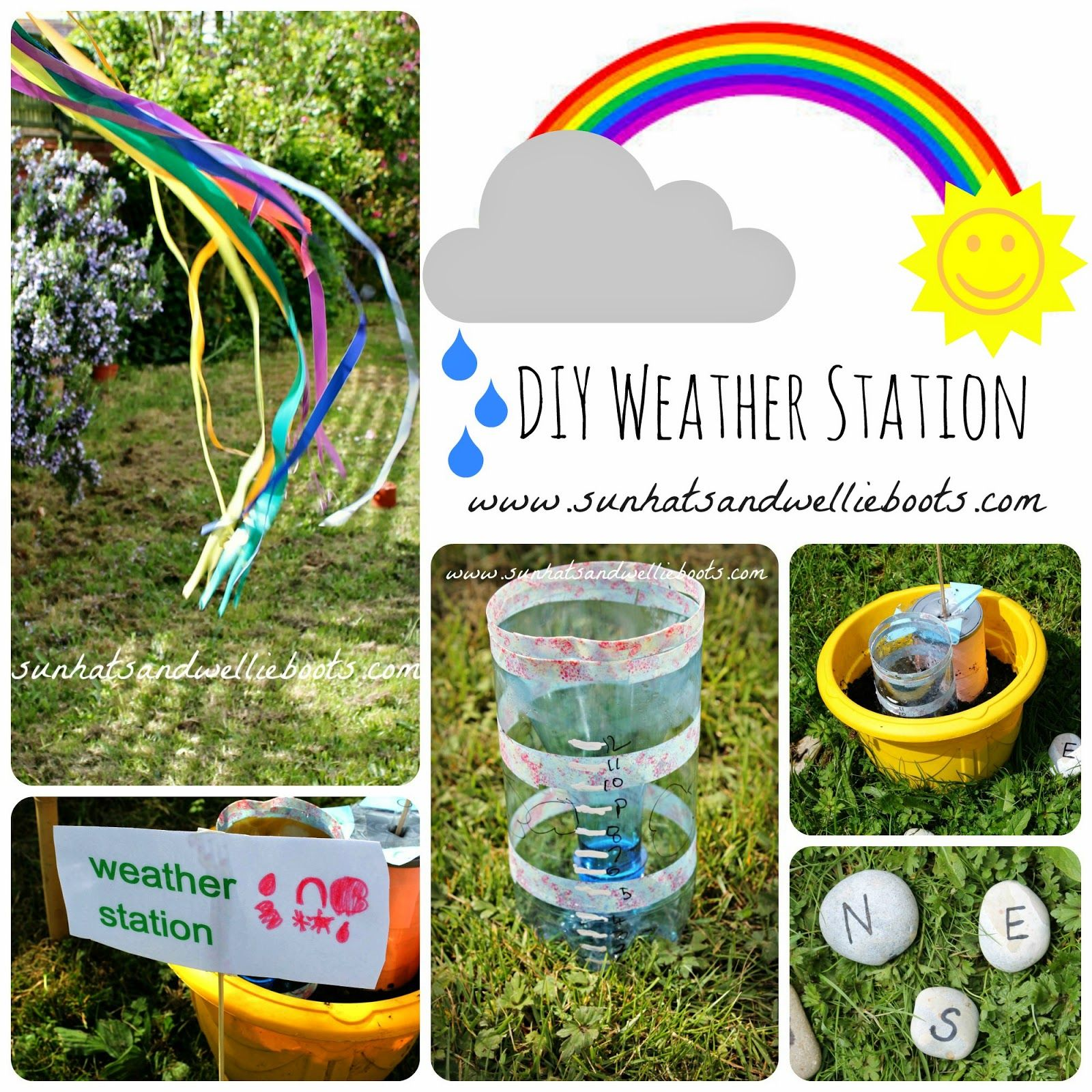 Diy Weather Station For Kids To Make