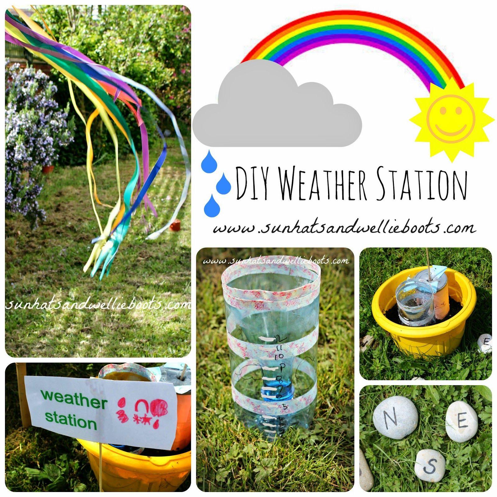 Diy Weather Station For Kids To Make