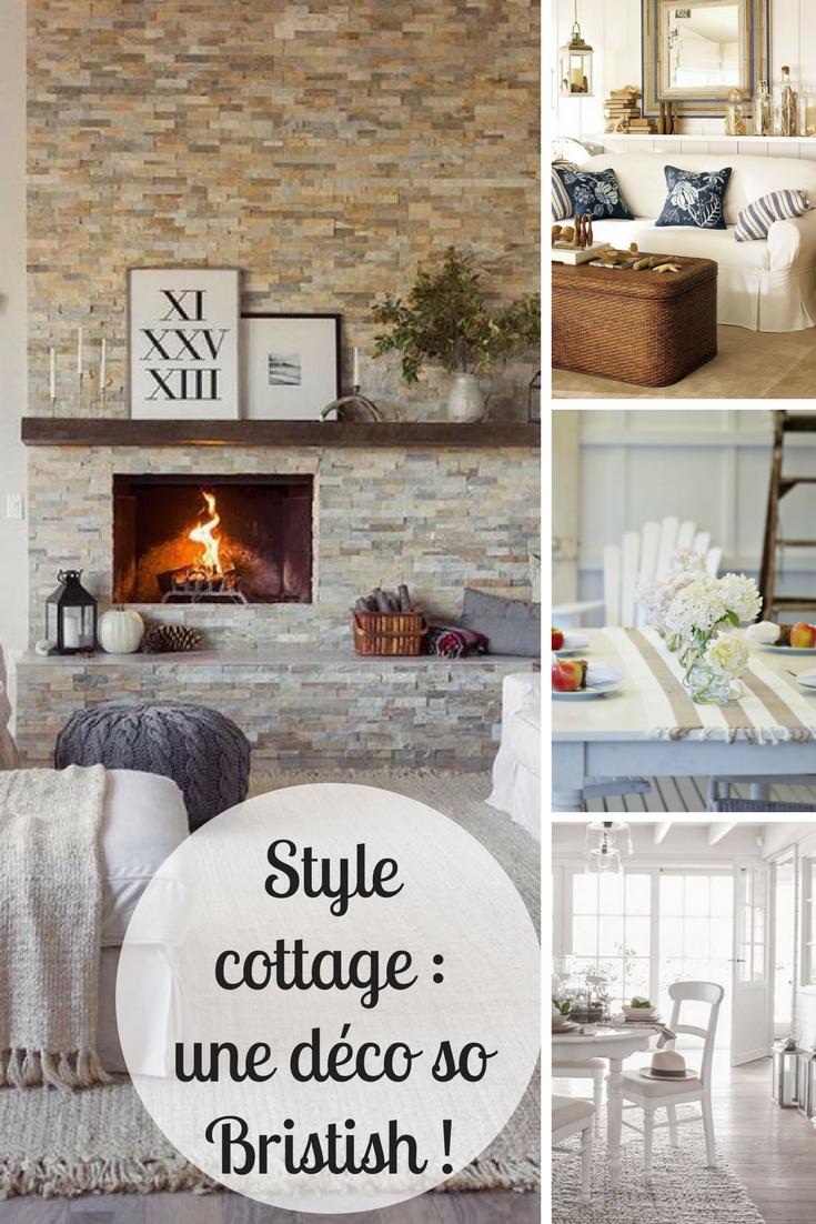 Deco Chambre Style Cottage Anglais style cottage : une déco so bristish ! - artsdeco