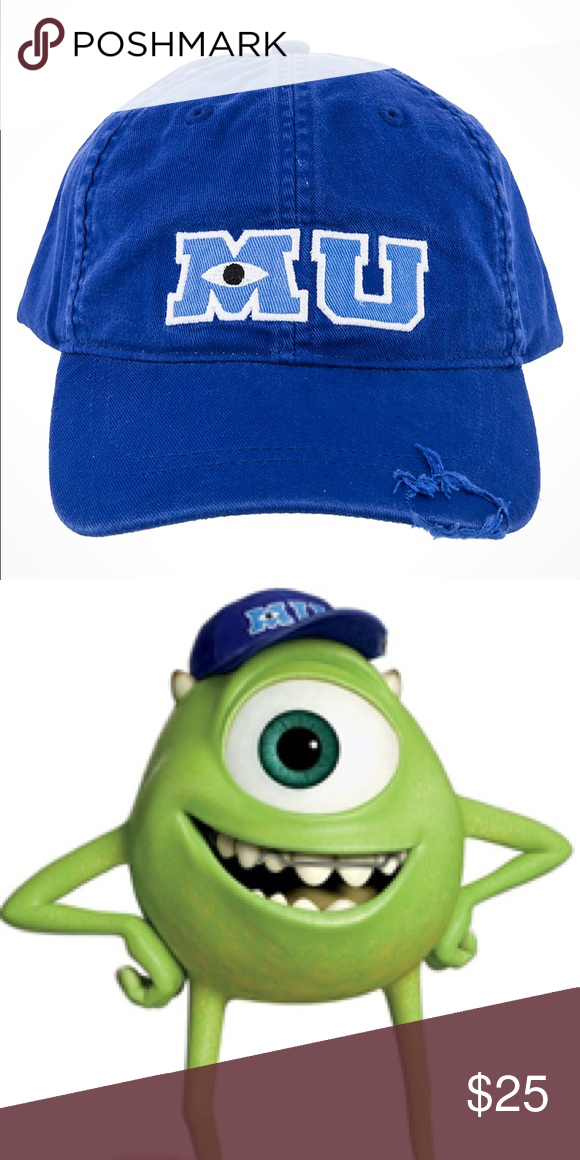 Disney Pixar S Monsters University Mu Hat Mu Hat Monsters University Costumes Monster University