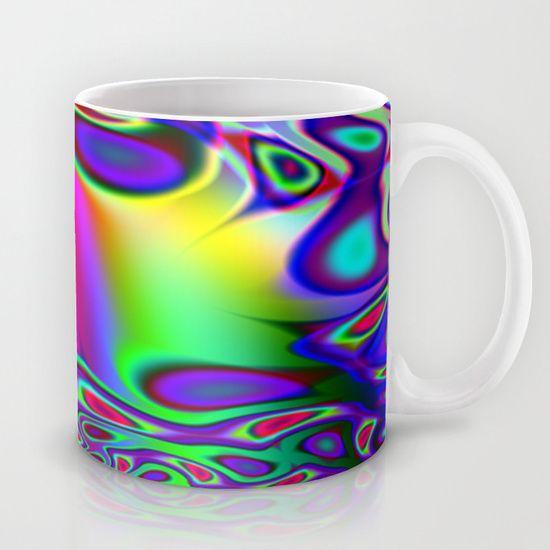 Rainbow psych mug