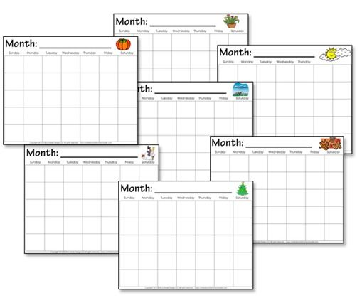 Free Printable Calendar For Kindergarten Worksheets for all ...