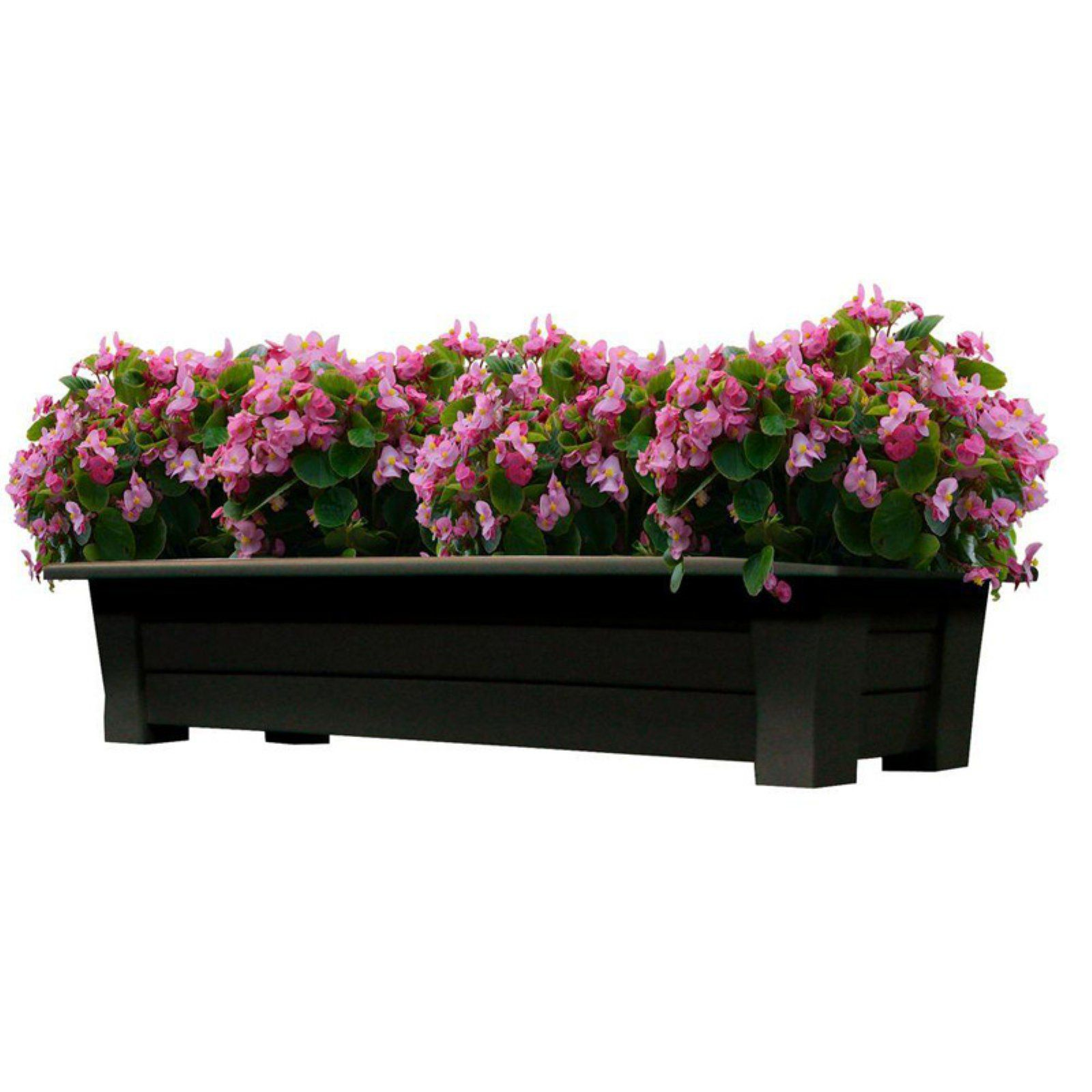 adams manufacturing rectangle resin deck planter 36 in in 2019 rh pinterest com
