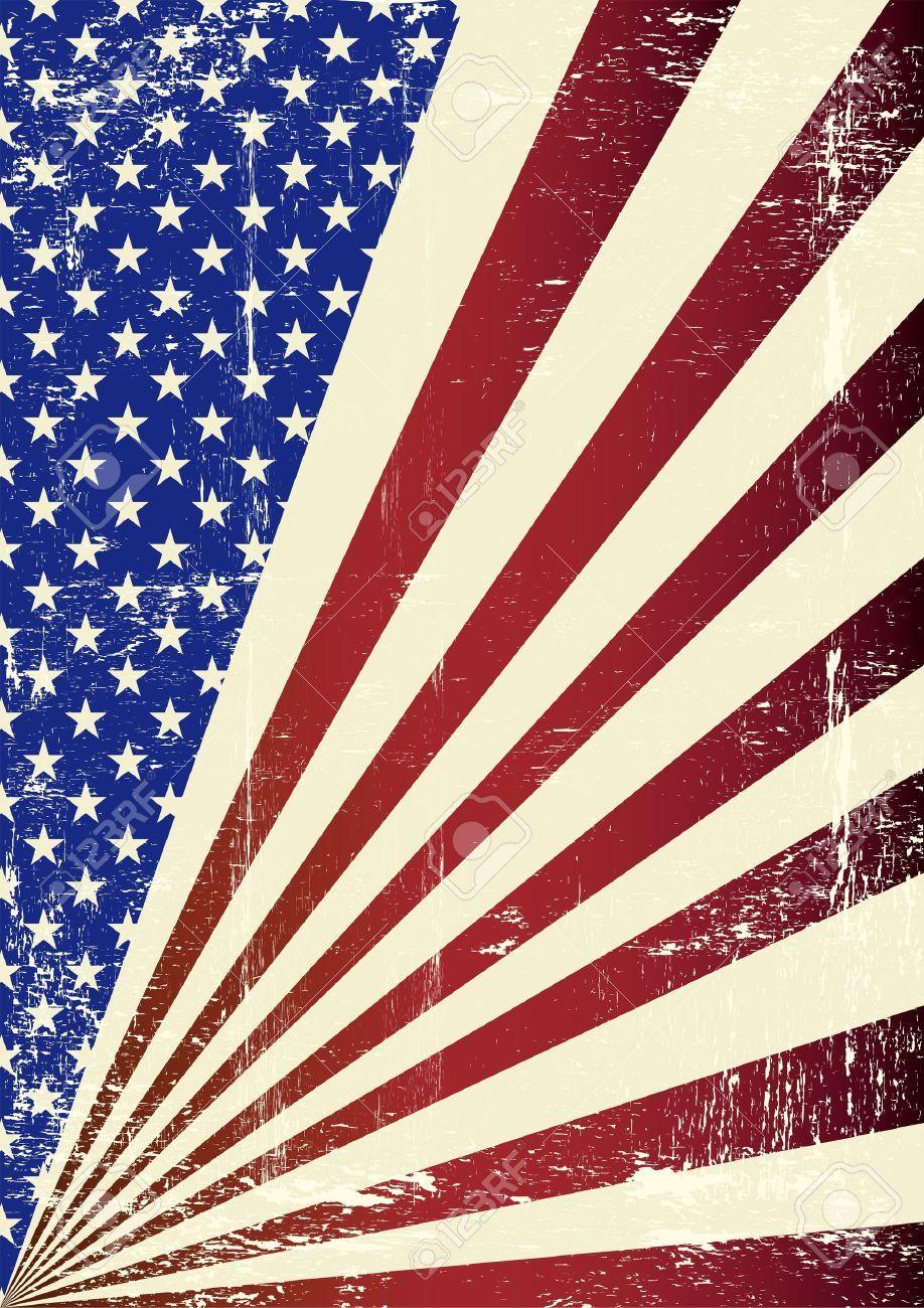 A patriotic background for you Vintage Patriotic Wallpaper
