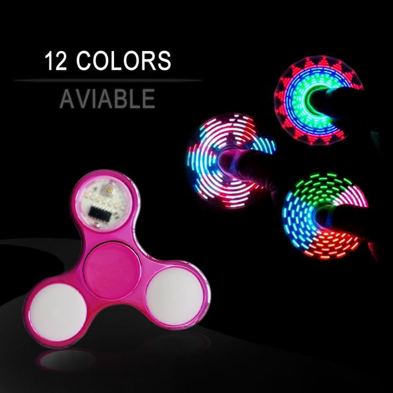 2017 New Batman Fidget Spinner Fashion Rainbow Colorful Glow Stickers Hand Women Men Casual Accessories