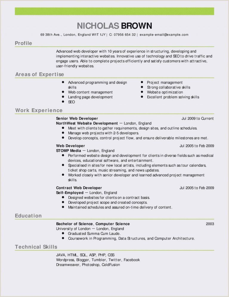 Resume Format For Job Hd Pic In 2020 Job Resume Examples Project Manager Resume Good Resume Examples