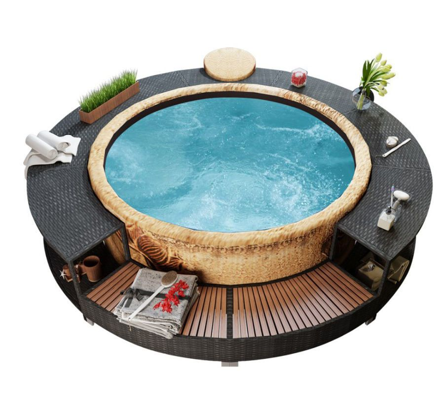 Details about Hot Tub Enclosure Outdoor Patio Furniture