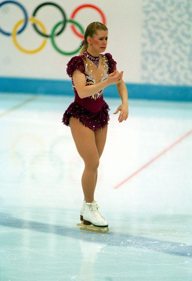 Tonya harding figure skater