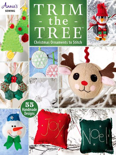 Craftdrawer Crafts: 50 of the Best Easy to Sew Ornaments for Christmas