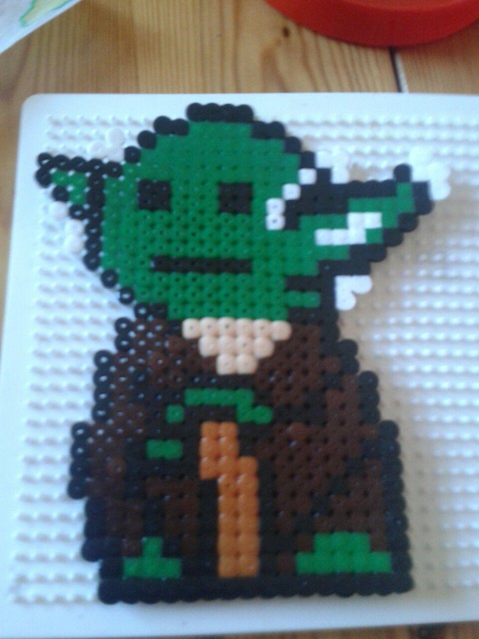 Yoda Bügelperlen