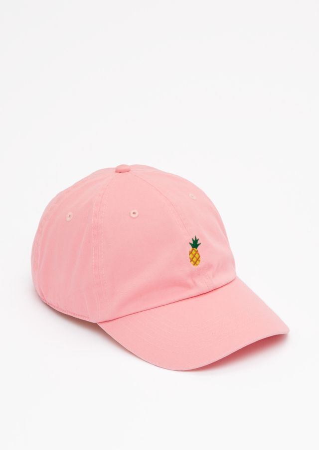 16d3567d9dcf7 image of Pink Pineapple Baseball Hat